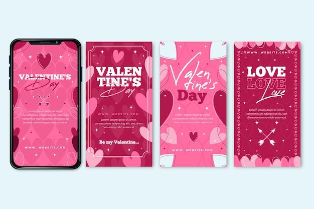 Colección de historias de san valentín