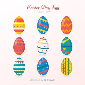 Colección huevos de pascua decorados