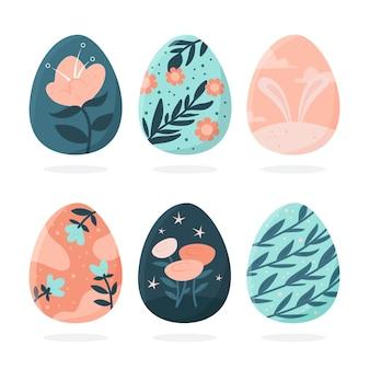 Colección de huevos de pascua