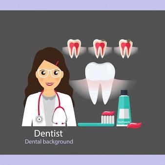 Colección de iconos de cuidado dental