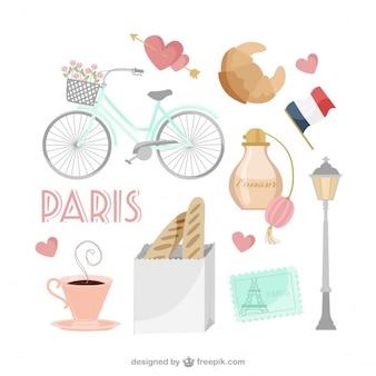 Colección de iconos franceses