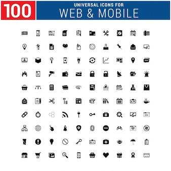 Colección de iconos de web