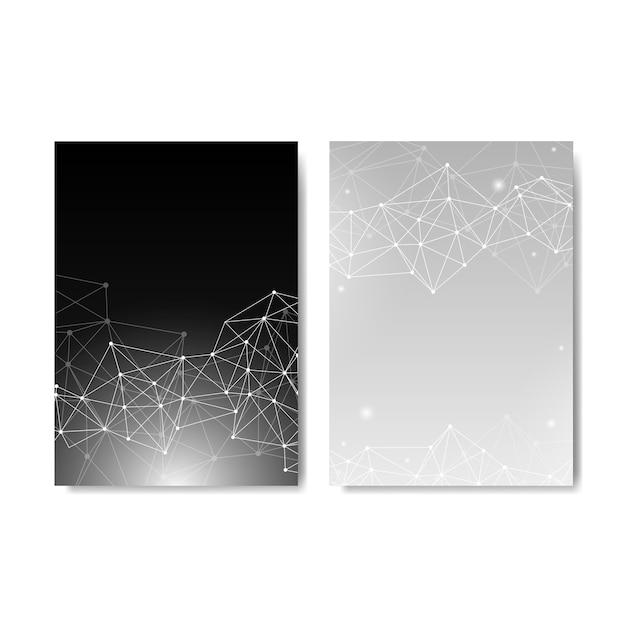 Colección de ilustración de red neuronal