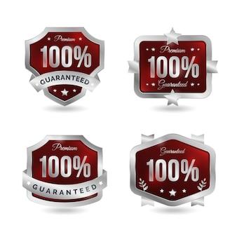 Colección de insignias 100% garantizada