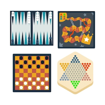 Colección de juegos de mesa