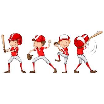 Colección de jugador de béisbol