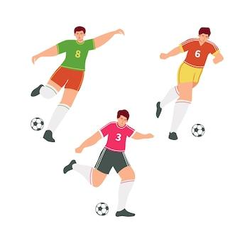 Colección de jugadores de fútbol
