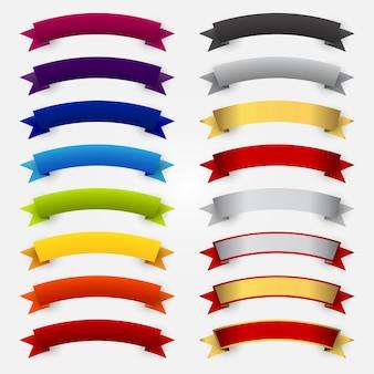 Colección de lazos multicolor