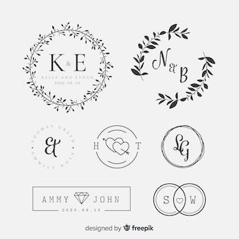 Colección lettering boda