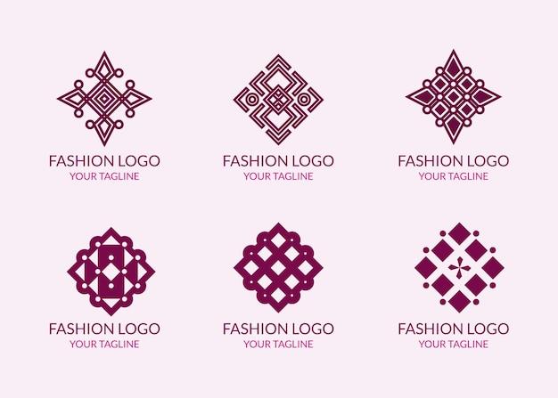 Colección de logos de accesorios de moda