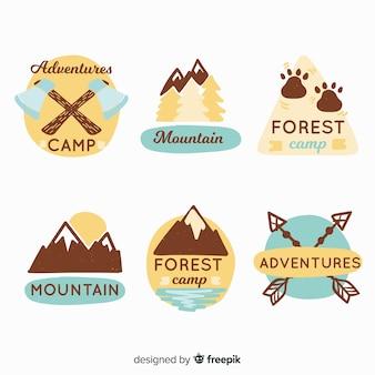 Colección logos aventura