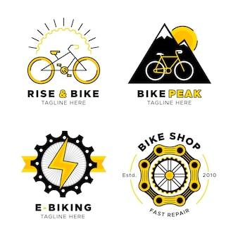 Colección de logos de bicicletas