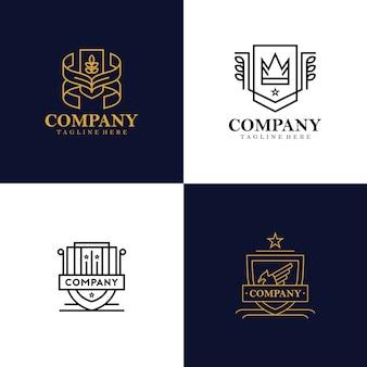 Colección de logos de heráldica