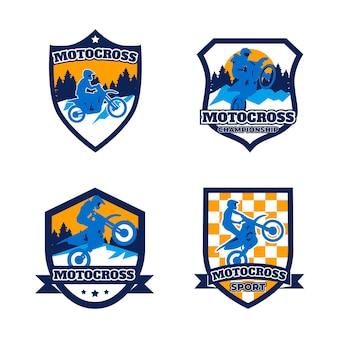 Colección de logos de motocross