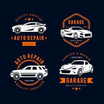 Colección de logotipos de automóviles