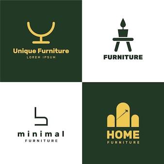 Colección de logotipos furtniture