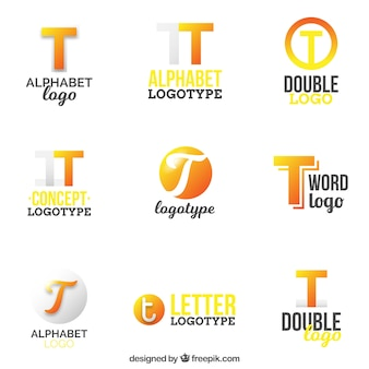 Colección de logotipos de letra