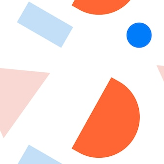 Colección de maquetas de patrón de memphis