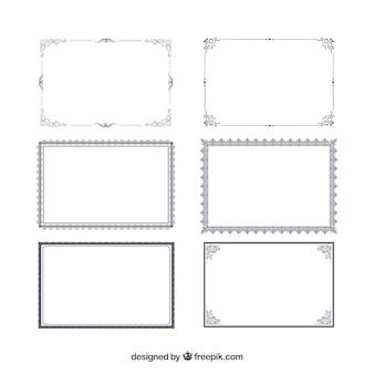 Colección de marcos de certificado