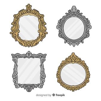 Colección marcos dibujados a mano