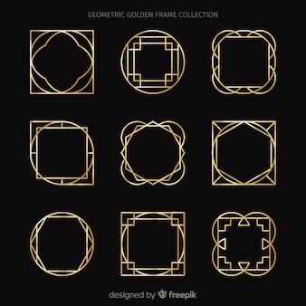 Colección marcos dorados