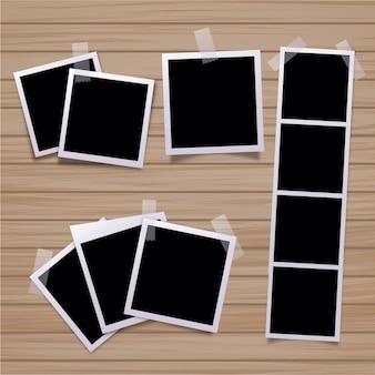 Colección de marcos de foto