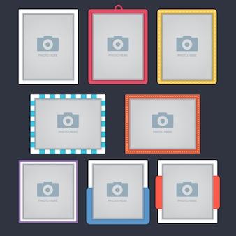 Colección de marcos para fotografías