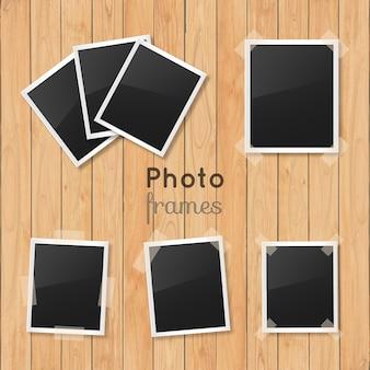Colección de marcos polaroid