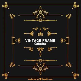 Colección marcos de la vendimia