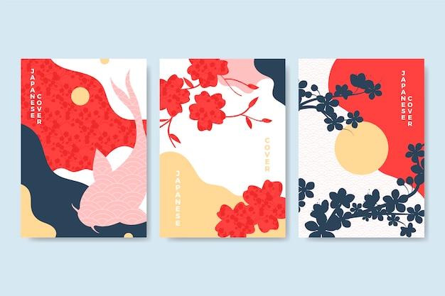 Colección minimalista de portadas japonesas