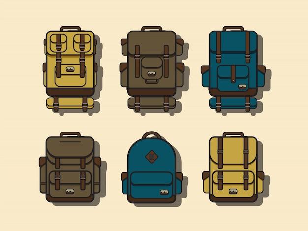 Colección de mochilas