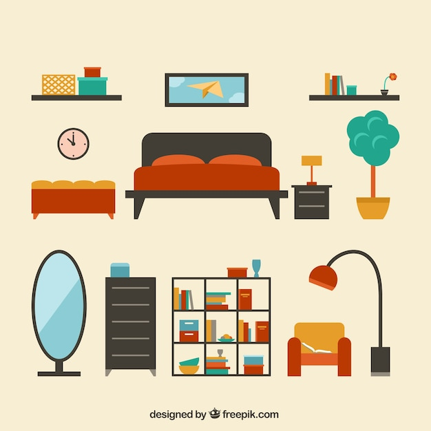 Colección de muebles modernos