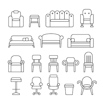 Colección de muebles