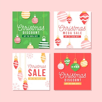 Colección de navidad venta instagram post