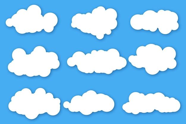 Colección nube plana