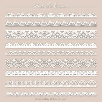 Colección del ornamento del cordón