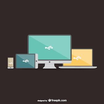 Colección de pantallas