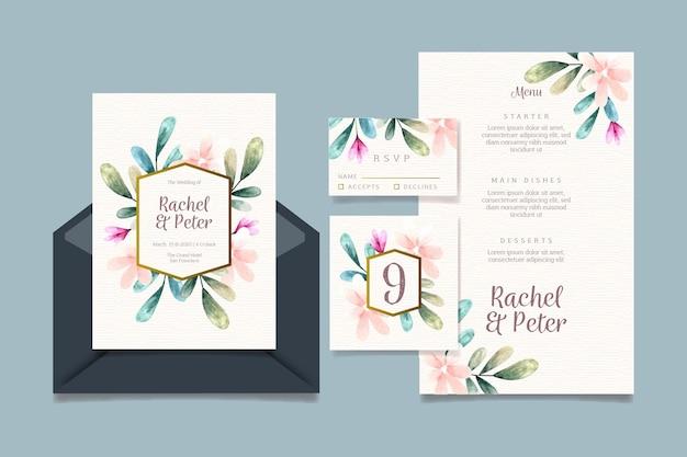 Colección de papelería para boda