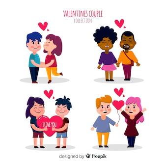 Colección de pareja para el día de san valentin