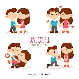 Colección de pareja enamorada