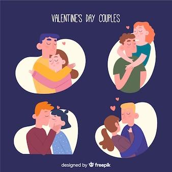 Colección parejas día de san valentín