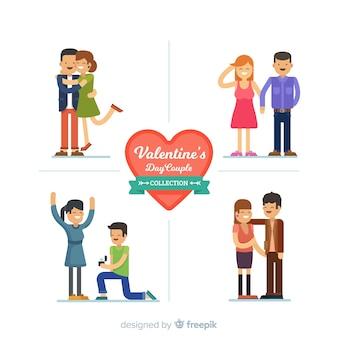 Colección parejas san valentín planas