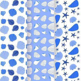 Colección patern seashell