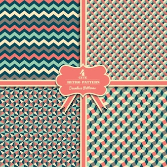 Colección de patrón geométrico