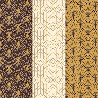 Colección de patrones art deco