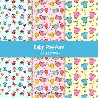 Colección de patrones de bebé