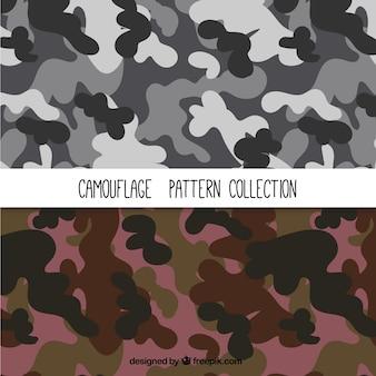 Colección de patrones de camuflaje