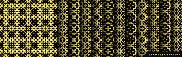 Colección de patrones sin fisuras de lujo