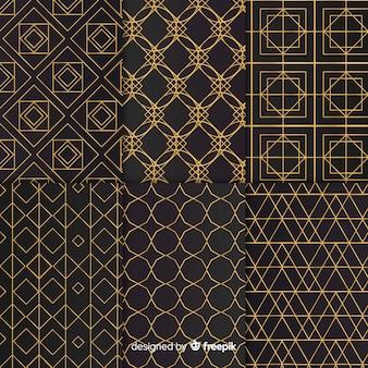 Colección de patrones geométricos de lujo