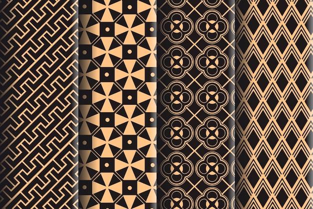 Colección de patrones geométricos mínimos
